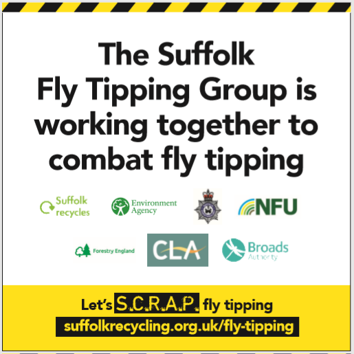 Let's SCRAP fly-tipping!